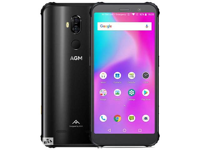 продам AGM X3 6/64 Gb black бу в Дубно