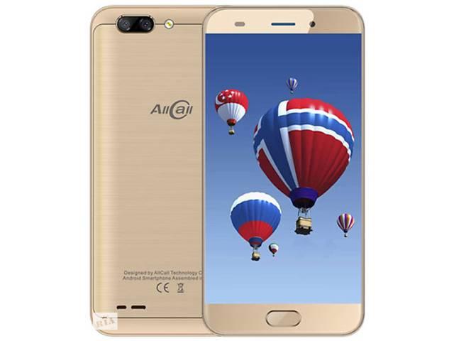 """продам Allcall Atom gold 2/16 Gb, 5.2"""", MT6737, 3G, 4G бу в Дубно (Ровенской обл.)"""