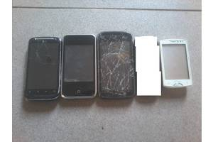 б/в Сенсорні мобільні телефони