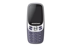 Мобильный телефон Assistant AS-203 Blue (873293012551)
