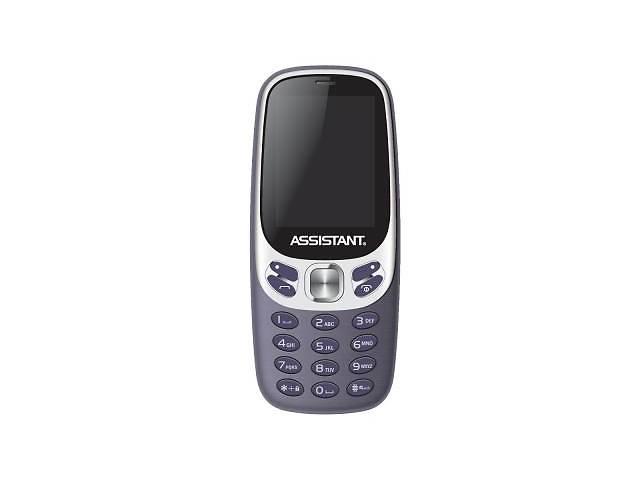 Мобильный телефон Assistant AS-203 Blue (873293012551)- объявление о продаже  в Киеве