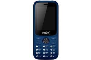 Мобильный телефон Verico Carbon M242 Blue (4713095606663)