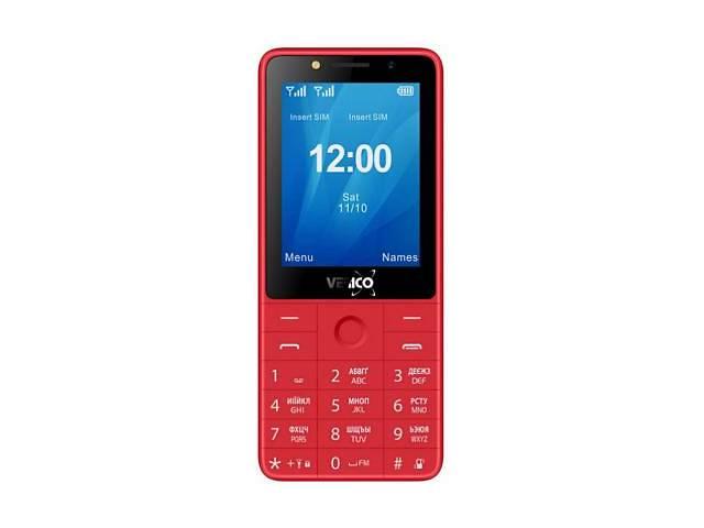 бу Мобильный телефон Verico Qin S282 Red (4713095606779) в Киеве