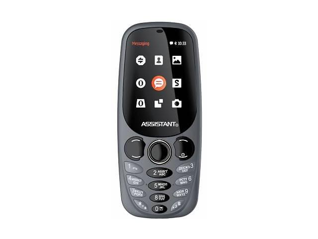 продам Мобильный телефон Assistant AS-201 Grey (873293012841) бу в Киеве