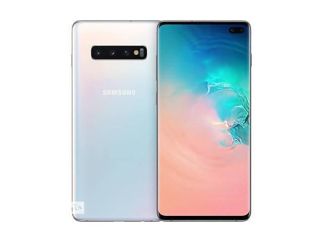 купить бу Мобильный телефон Samsung SM-G975F/128 (Galaxy S10 Plus) White (SM-G975FZWDSEK) в Дружковке