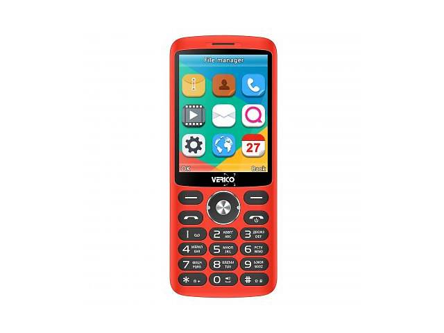 бу Мобильный телефон Verico Style S283 Red (4713095606915) в Киеве