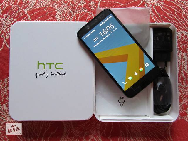 Новый HTC 10 Black 4/32/5'2 дюйма/Snapdragon 820/12 mpx/3000mah/3,4G- объявление о продаже  в Харькове