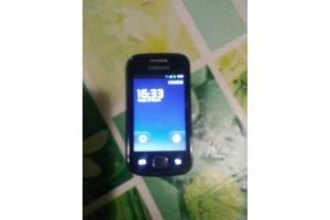 б/в Сенсорні мобільні телефони Samsung Samsung S5660 Galaxy Gio Silver White