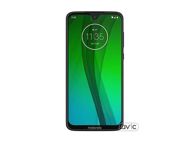купить бу Смартфон Motorola Moto G7 4/64GB Ceramic Black в Харькове