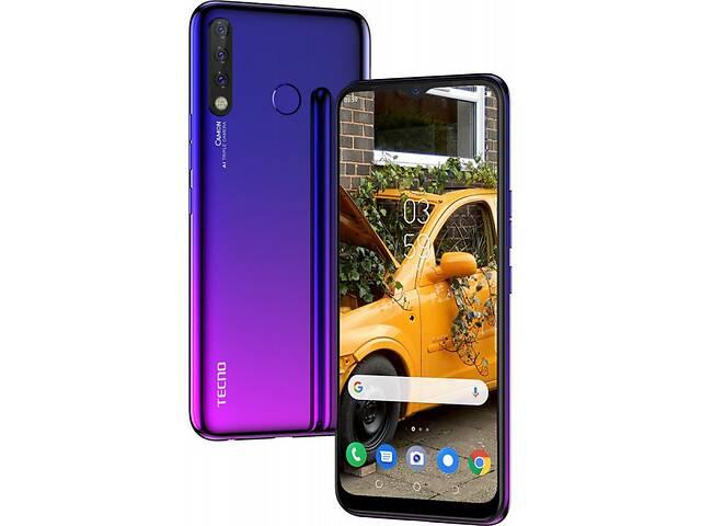 продам Смартфон Tecno Camon 12 (CC7) Dual Sim Dawn Blue (4895180750922) бу в Харькове