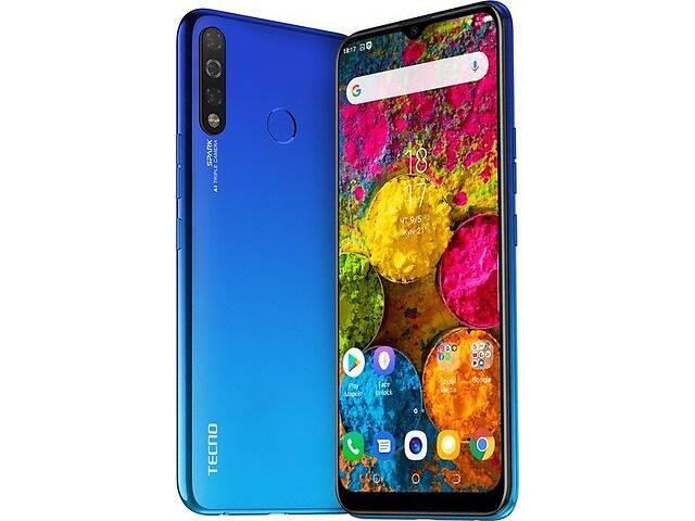 бу Смартфон Tecno Spark 4 3/32 (KC2) Dual Sim Vacation Blue (4895180751073) в Харькове