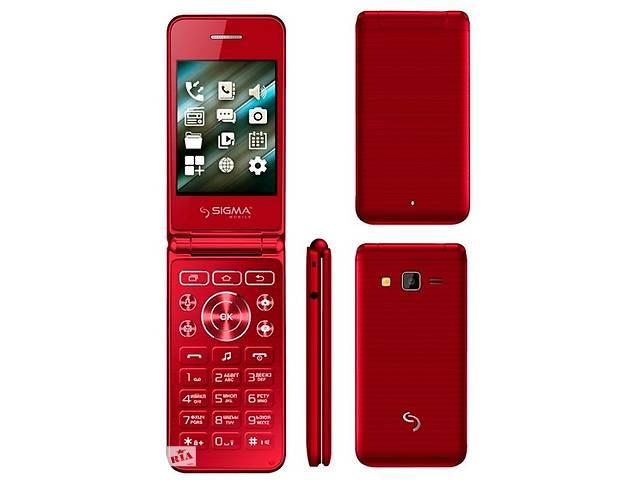 Телефон-раскладушка Sigma X-Style 28  2 сим,2,8 дюйма.- объявление о продаже  в Киеве