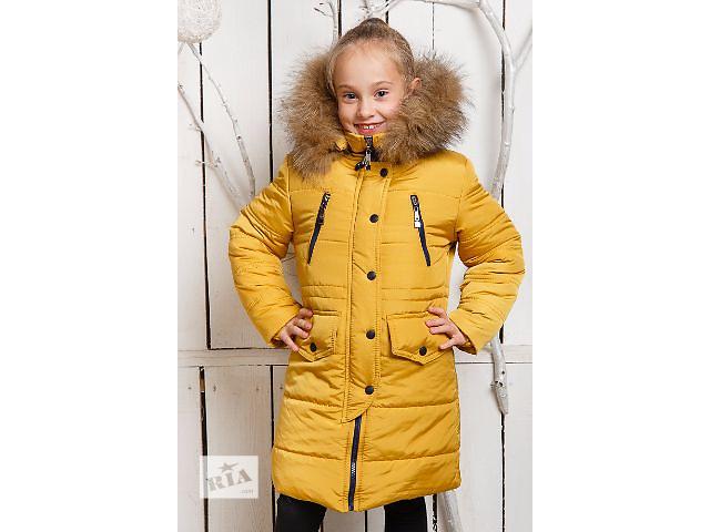 бу Модна подовжена куртка-парку на дівчинку 6-11 років f744389f96a3e