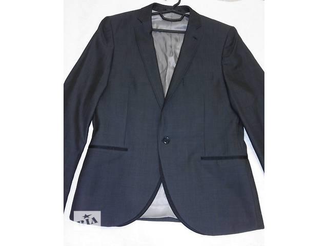 купить бу Классический серый пиджак, бренд topman в Полтаве