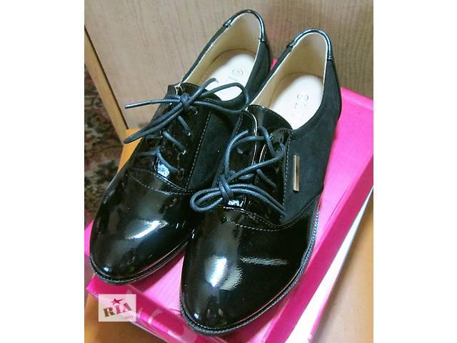 модные осенние туфли- объявление о продаже  в Славянске