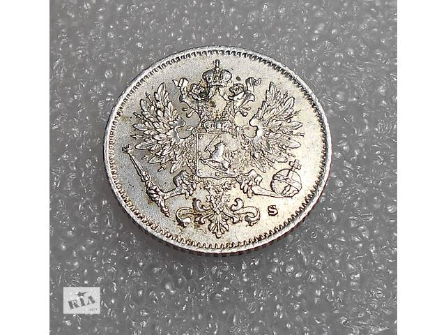 купить бу Монета (серебро) 25 пенни 1916 г. S. Для Финляндии (Николай II). в Николаеве