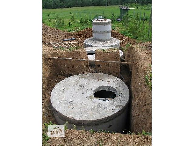 купить бу Монтаж канализационных колодцев в Киеве