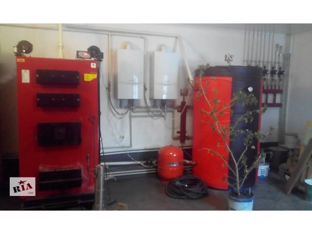 Монтаж системы отопления, теплый пол- объявление о продаже  в Ивано-Франковске