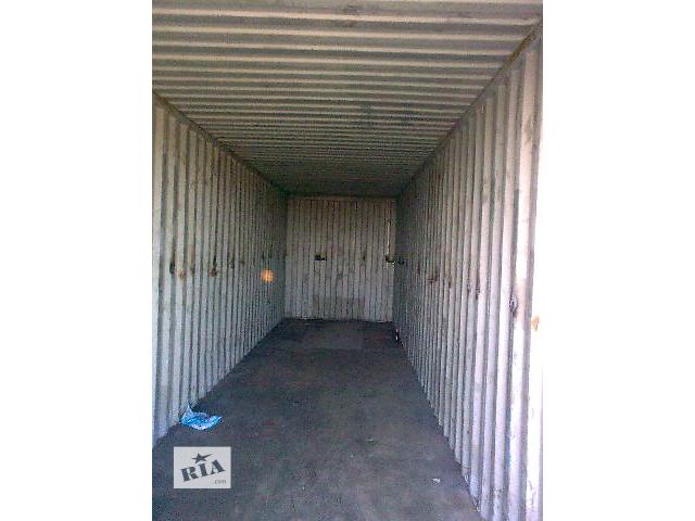 купить бу Морський контейнер, 40 футів, допоможу з завантаженям в Ровно