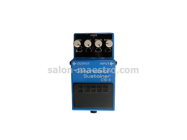 (01002) Педаль для электрогитары Boss Compression Sustainer CS - 3
