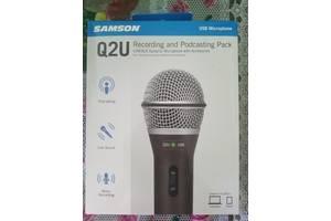 Новые Вокальные микрофоны Samson