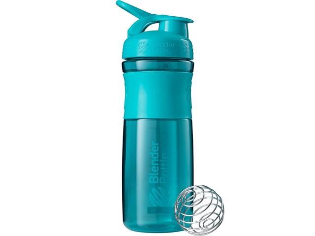 Бутылка-шейкер спортивная BlenderBottle SportMixer 820ml Teal SKL24-144851- объявление о продаже  в Одессе