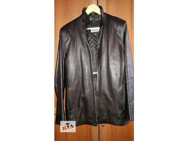 Кожаная мужская  куртка- объявление о продаже  в Харькове