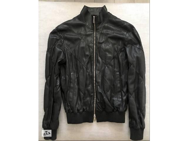 продам кожаная куртка Armani бу в Києві
