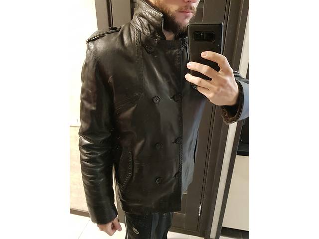 Кожаная куртка Marko Rossini, дубленка, 100% мех, обмен на велосипед- объявление о продаже  в Киеве