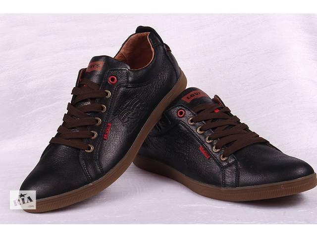 купить бу Чоловічі шкіряні туфлі Levis 00127 в Мелітополі