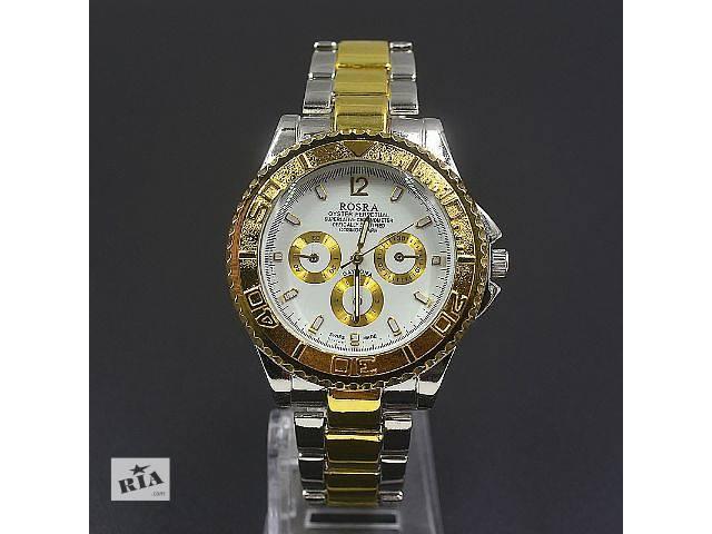 Мужские наручные часы rosra silver / gold- объявление о продаже  в Кривом Роге (Днепропетровской обл.)