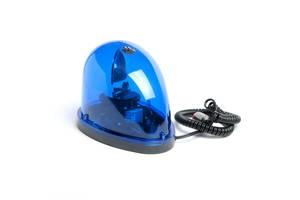 Мигалка  капелька KJ-301 (RL-006) 12V синяя в прикуриватель магнитная