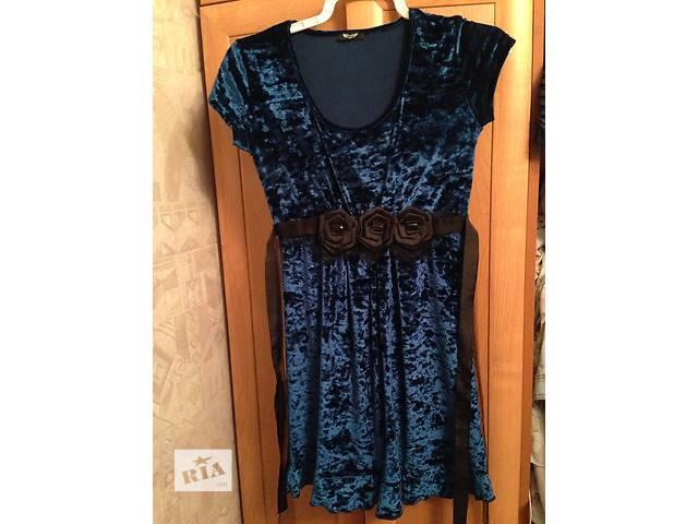 продам Милое синее платье! бу в Киеве