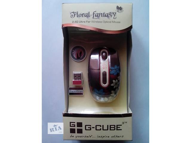 купить бу Мышь безпроводная G-Cube G7F-10F Floral Fantasy в Киеве