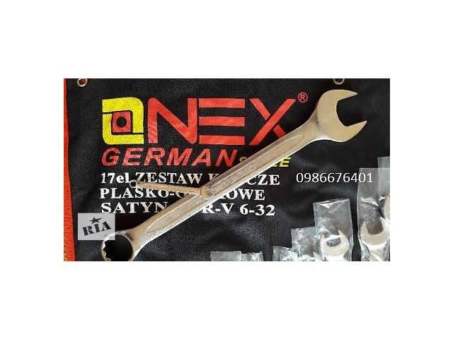 бу Набор рожково - накидных ключей в брезенте 6-32мм OnexGerman style в Луцке