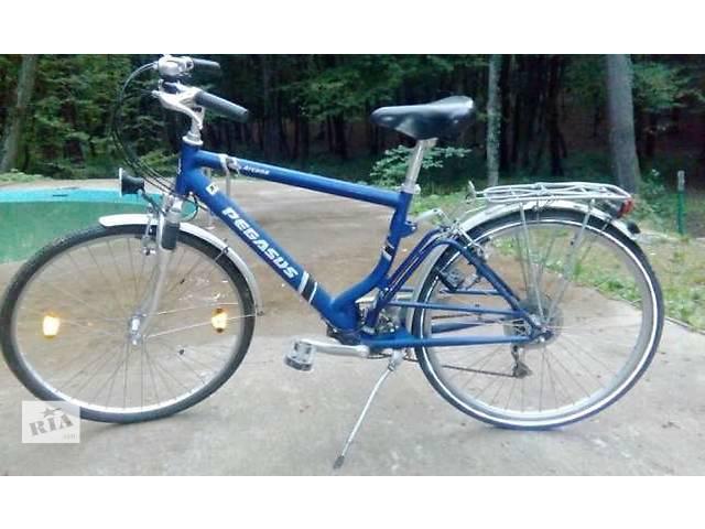 бу Надежный немецкий велосипед Pegasus отеле arcona в Львове