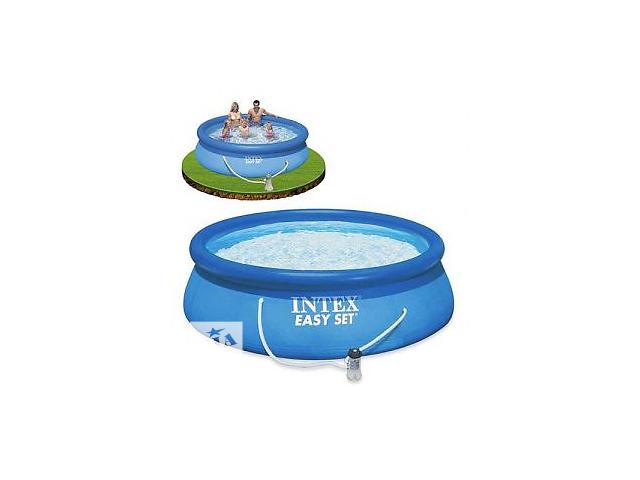 купить бу Надувной бассейн Intex  28122 (56922)  диаметре 305 см, высота – 76 см. в Днепре (Днепропетровск)