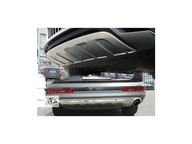продам Накладки переднего и заднего бампера Skid Plate Audi Q7 бу в Луцке