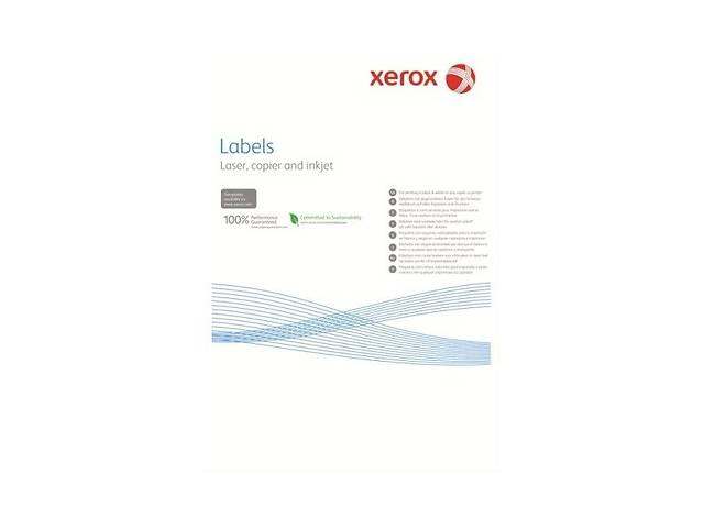 бу Наклейка Xerox Mono Laser 24UP (squared) 70x37mm 100л. (003R97408) в Киеве