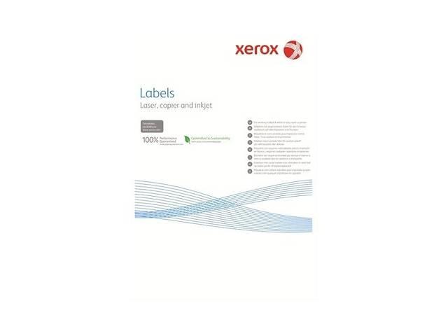 продам Наклейка Xerox Mono Laser 2UP (squared) 210x148.5mm 100л. (003R97401) бу в Киеве