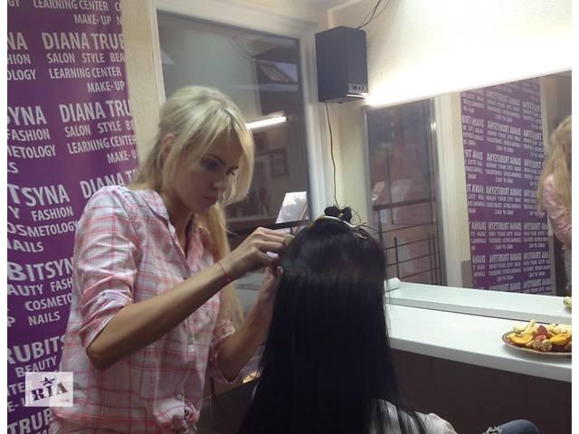 бу Наращивания волос в Киеве