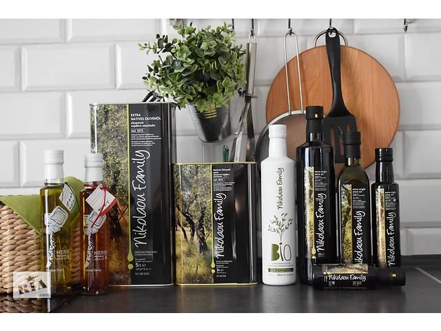 продам Настоящее оливковое масло 0,5 л. из Греции Extra Virgin холодный отжим бу в Одессе