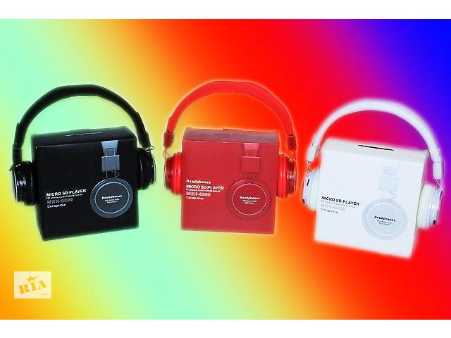 бу Наушники с MP3 Плеером + FM Радио NIA MRH-8809 в Виннице
