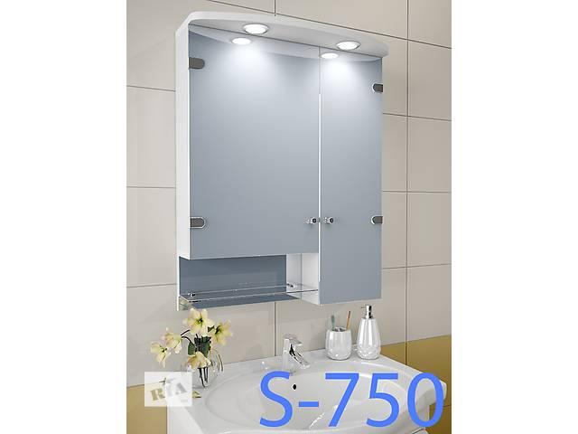 Навесной, зеркальный шкаф для ванной комнаты S-750- объявление о продаже  в Киеве