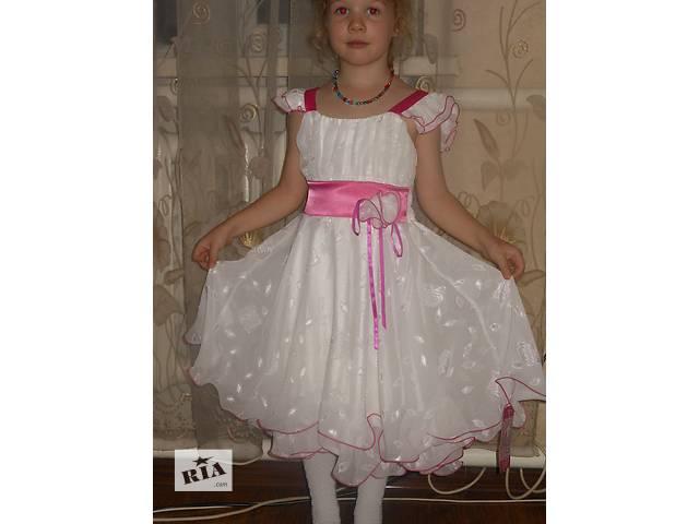продам Нежное, воздушное, праздничное платье. Польша. Доставка. бу в Виннице