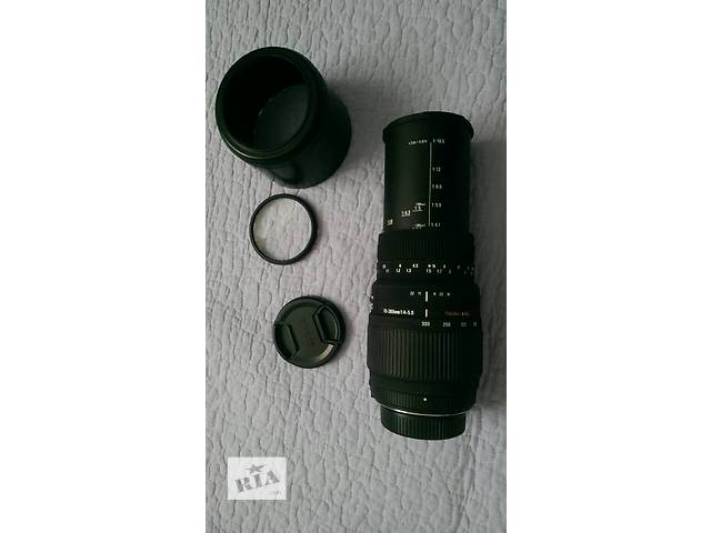 продам Sigma AF 70-300mm F4.0-5.6 APO MACRO DG made in Japan бу в Умани