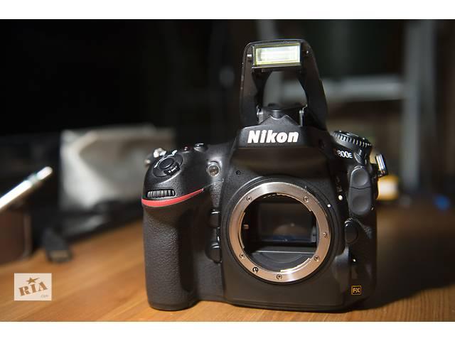 купить бу Nikon D800E body в Одессе