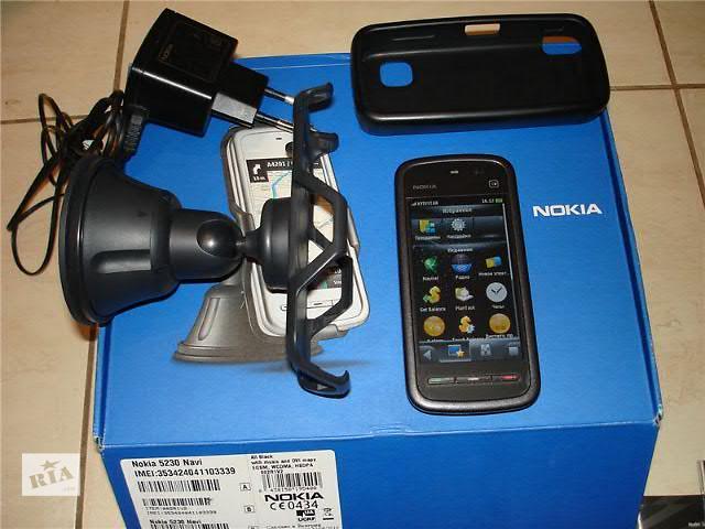 продам Nokia 5230 Xpress Music Оригинал бу в Киеве