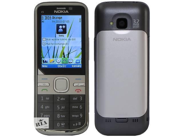 купить бу Nokia С5і Оригинал с гарантией! made in Finland! Качество гарантируем! в Киеве