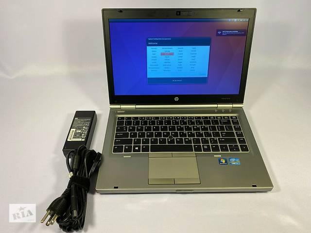 бу HP EliteBook 8470p 14'HD+ i7-3630QM 4 ядра 8GB/180GB SSD новий в Львові